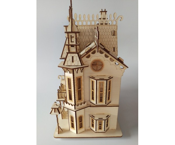 Victorian bay gable house for Victorian home catalog