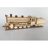Locomotive & Tender 2-8-0