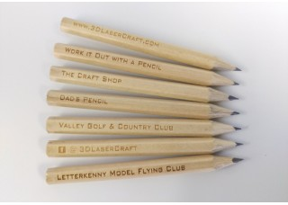 Engraved Half Pencils