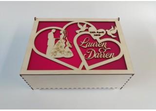 Wedding Keep Sake Box